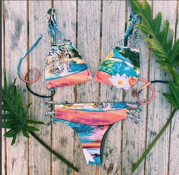 Buy this Brazilian Bikini Colourful Triple Cord Straps at the BumBum Store